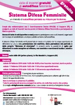 Locandina Sistema Difesa Femminile Copparo 2018
